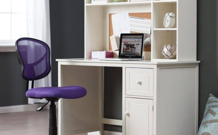 Modern Desks Small Places White Desk Homecaprice