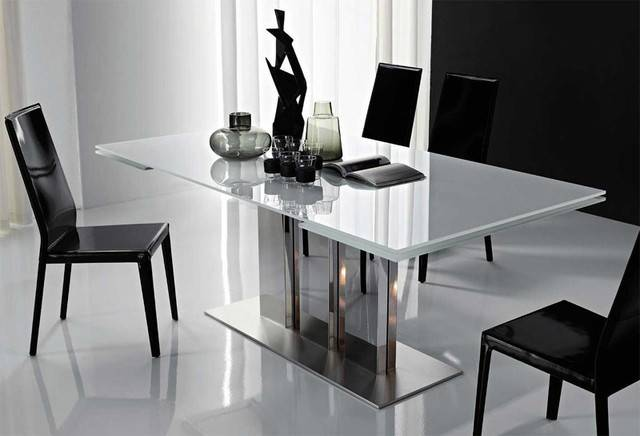 Modern Dining Table Included Contemporary Furniture