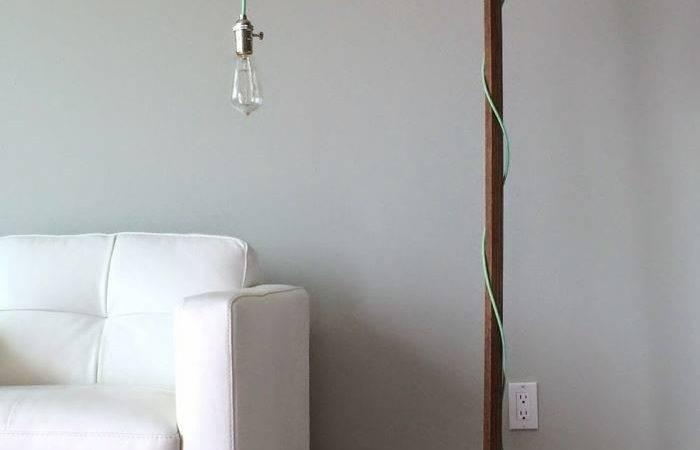Modern Diy Floor Lamp Ana White Lamps Style
