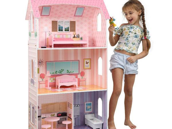 Modern Doll House Furniture Baby Toddler