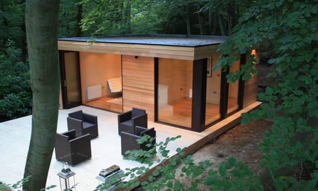Modern Eco Friendly Garden Studio London Digsdigs