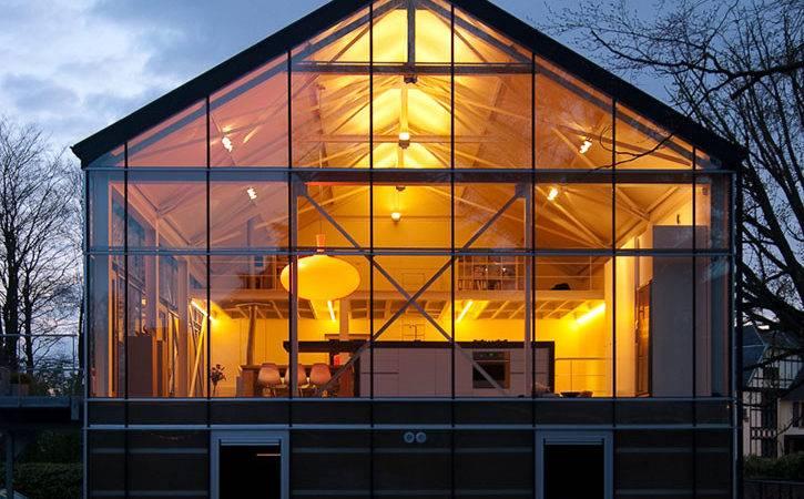 Modern Eco Greenhouse Design Located Asse Belgium Designed