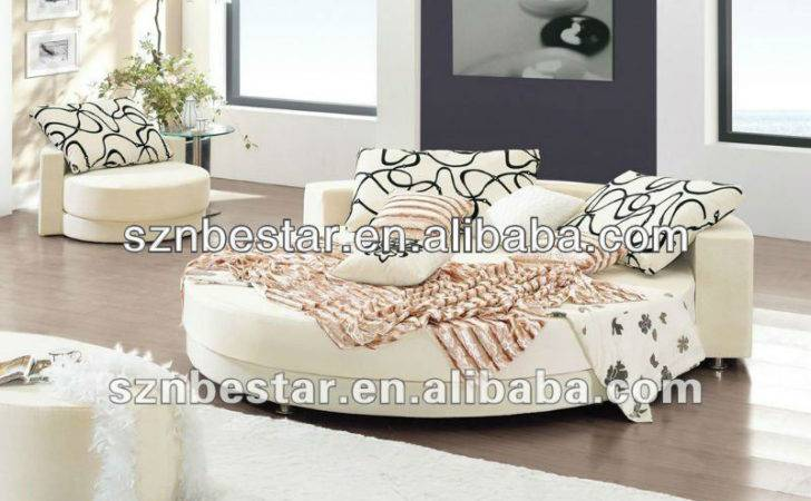 Modern Elegant Furniture Bedroom Sets Round Bed