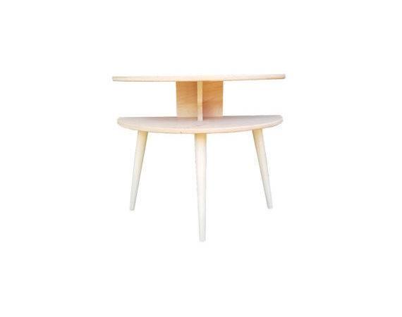 Modern End Tables Nightstands Atomic Furniture Kits Semi Circle