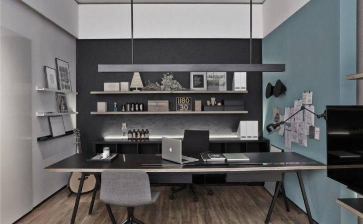 Modern Executive Office Interior Design House Decorating