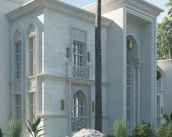 Modern Facad Arabic Elevations House