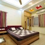 Modern False Ceiling Lights Design Master Bedroom