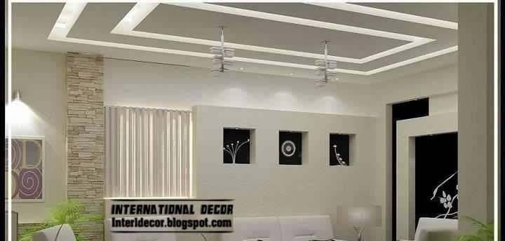 Modern False Ceiling Pop Design Led Lighting Ideas