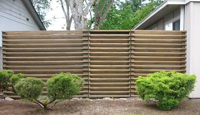 Modern Fence Flickr Sharing