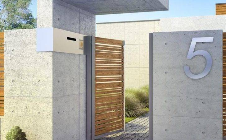 Modern Fence Pinterest Design Diy