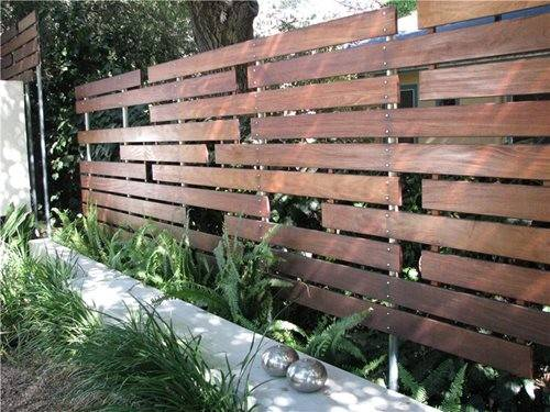 Modern Fencing Walls Landscaping Network