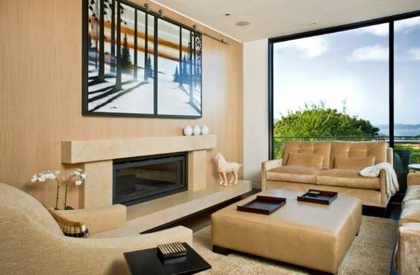 Modern Fireplace Designs Glass