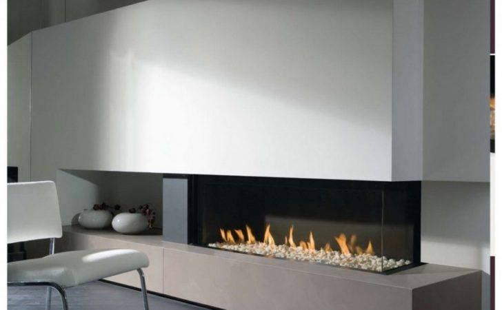 Modern Fireplace Gas Interesting Your Home