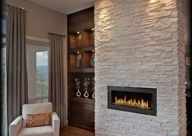 Modern Fireplace Project Stones Winterhaven Fireplaces