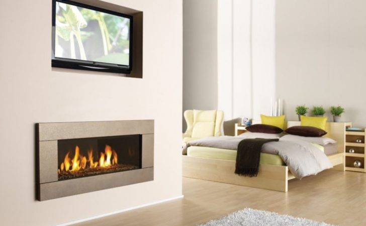 Modern Fireplaces Here Gas Fireplace Built