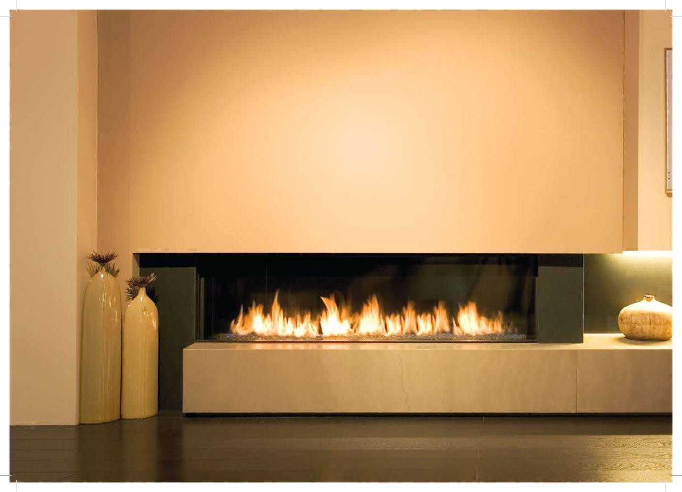 Modern Fireplaces Long Fireplace Homecaprice