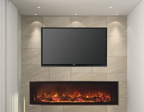 Modern Flames Inch Landscape Fullview Electric Fireplace Fine