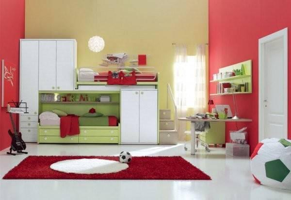 Modern Furniture Funny Kids Bedroom Decor Home Interior