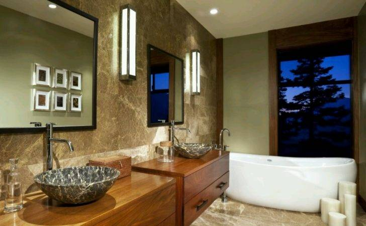 Modern Furniture Luxury Washrooms Designs