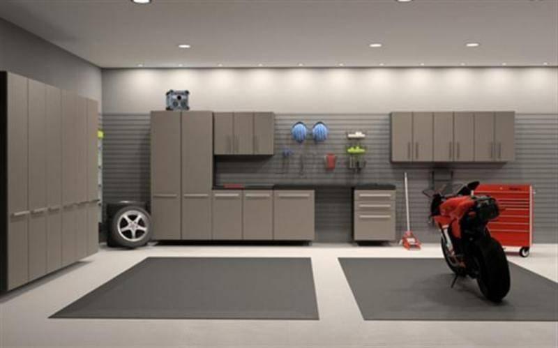 Modern Garage Storage Cabinet Design Ideas