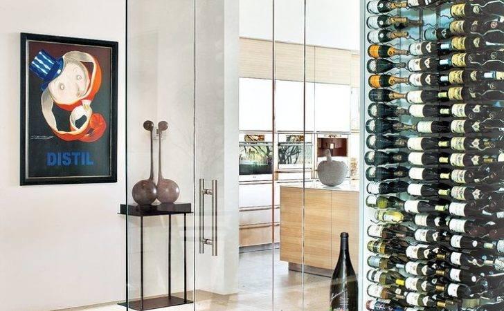 Modern Glass Wine Cellar Room Ideas Pinterest Luxury
