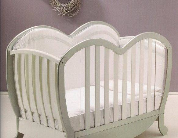 Modern Heart Shaped Wooden Cot Available Bambino More