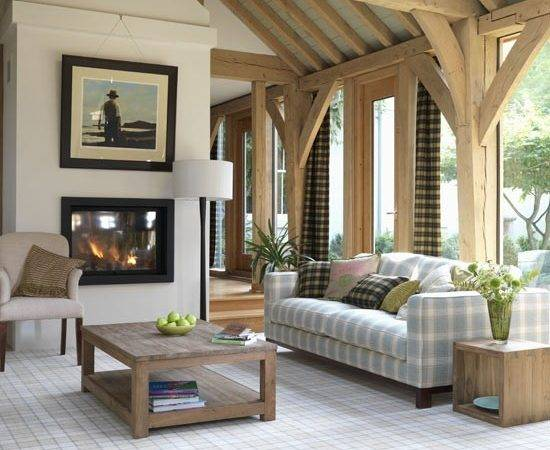 Modern Highland Style Living Room Rooms Ideas