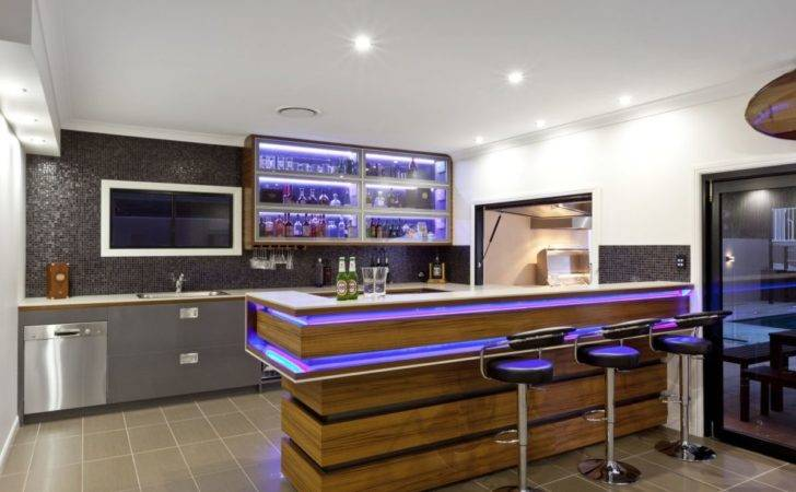 Modern Home Bar Designs Ideas Small Spaces