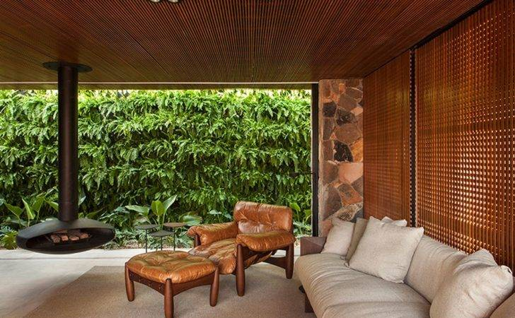 Modern Home Brazil Plays Vintage Feel Curbed