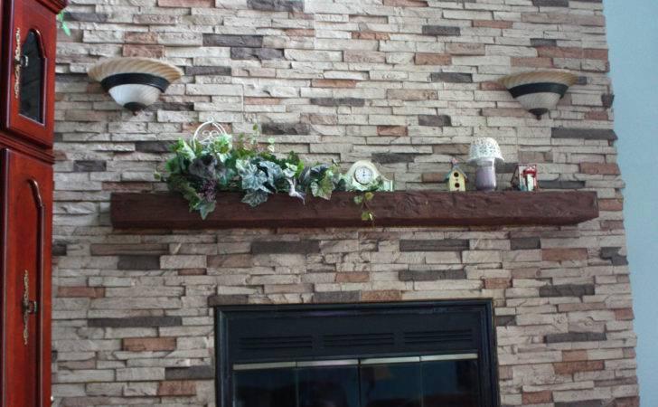 Modern Home Design Interior Fireplace Surround Created Brick Veneer