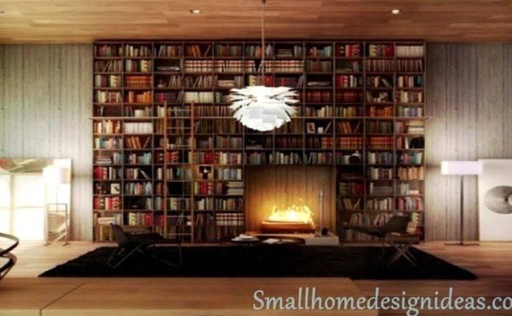 Modern Home Library Design Creative Diy Furniture Zeevolve