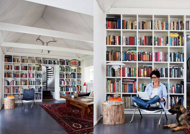 Modern Home Library Design Ideas Contemporary Office New