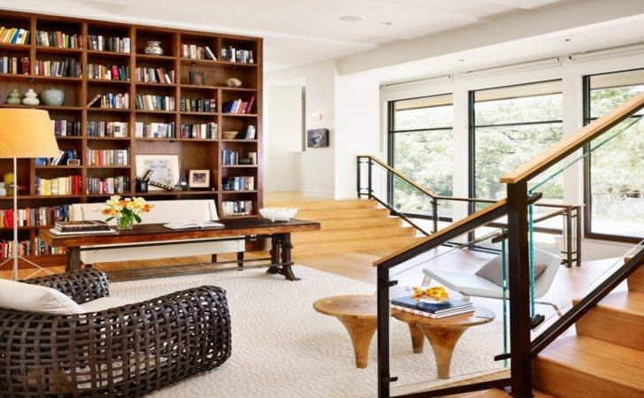 Modern Home Library Design Ideas Furniture