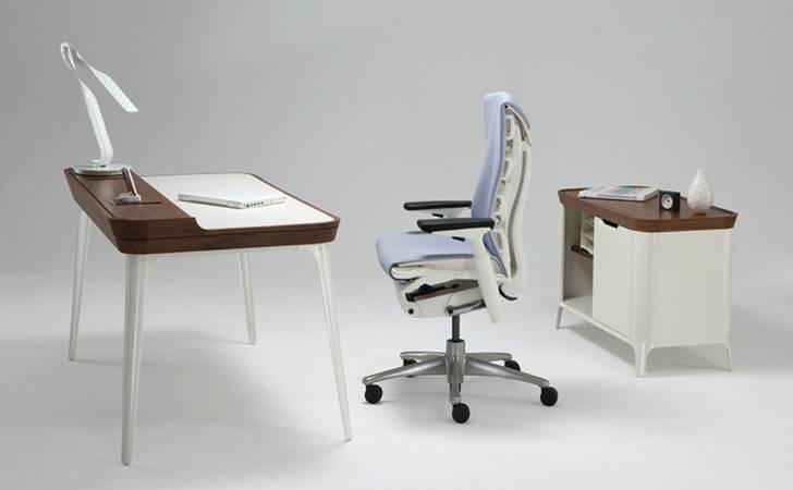 Modern Home Office Airia Desk Designers Kaiju Studios