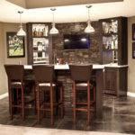 Modern Home Wet Bar Designs Fireplace