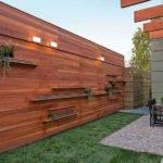 Modern Horizontal Wood Fence Panels Post Building