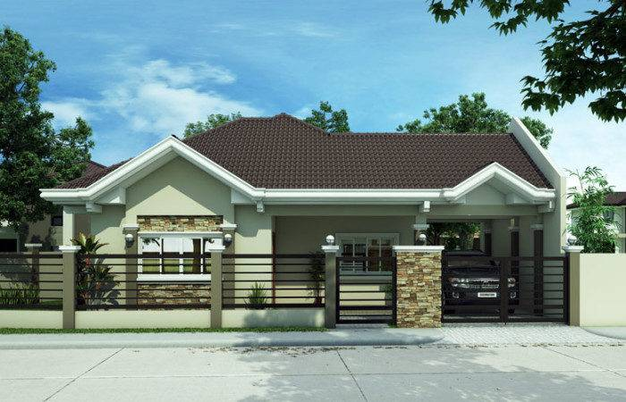 Modern House Design Philippines Moreover Simple Bungalow