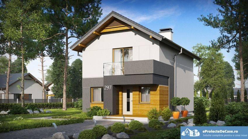 Modern House Designs Attic Brick Granite Glass