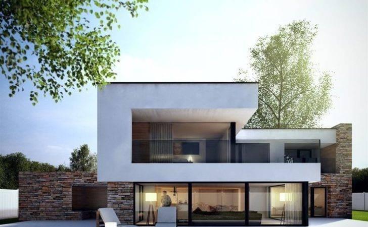 Modern House Exterior Architecture Design Bungalow