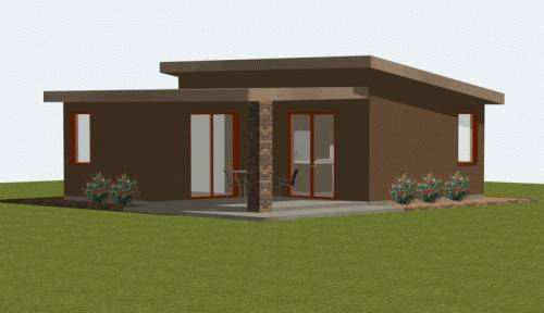 Modern House Plans Contemporary Small
