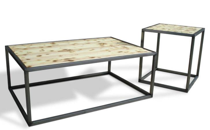 Modern Industrial Furniture Coffee Cocktail Table
