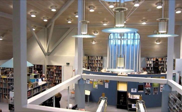 Modern Interior Design Kallio Library Helsinki Finland