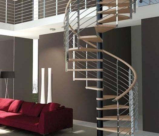Modern Interior Design Spiral Stairs Contemporary