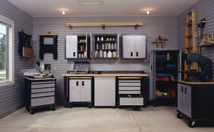 Modern Interior Garage Storage Cabinet Design Pin