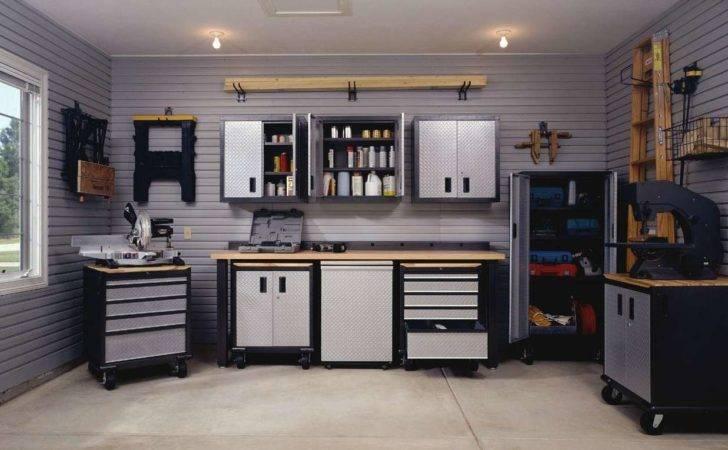 Modern Interior Garage Storage Cabinet Design Pin
