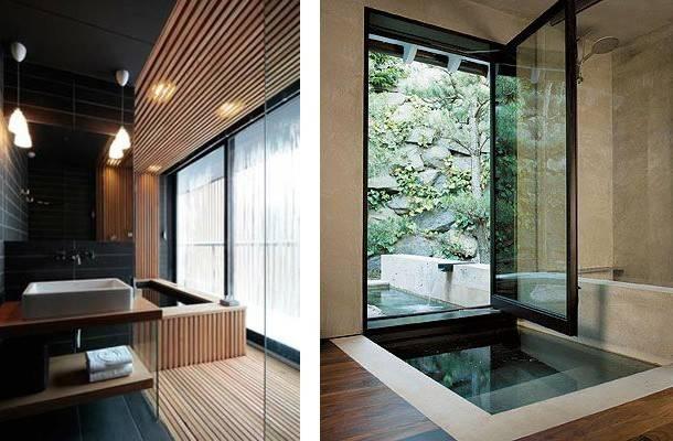 Modern Japanese Inspired Bathrooms Cor Design