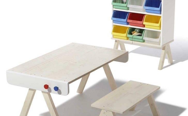 Modern Kids Furniture Table Famille Garage Richard Lampert