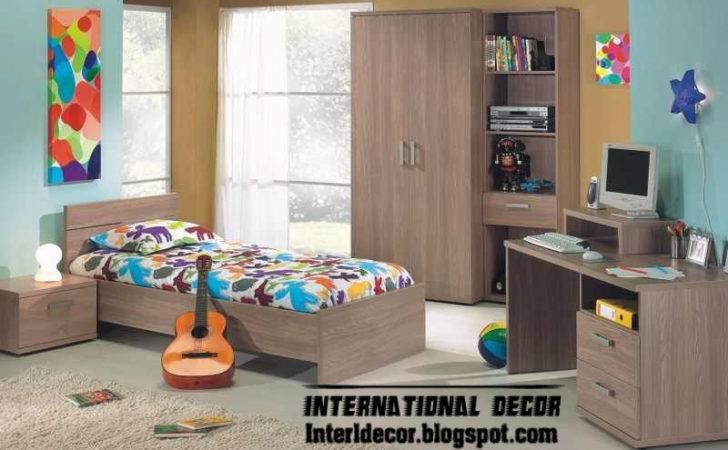 Modern Kids Room Color Schemes Idea Paints