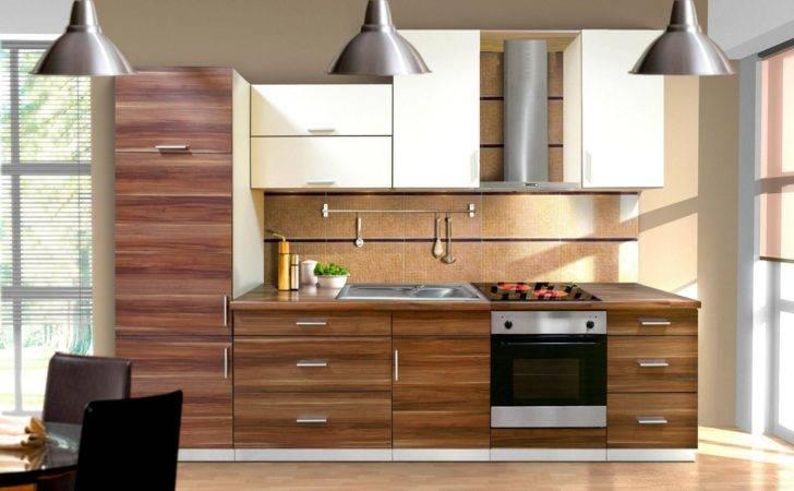 Modern Kitchen Cabinet Design Ideas Furnished Electric Oven Range
