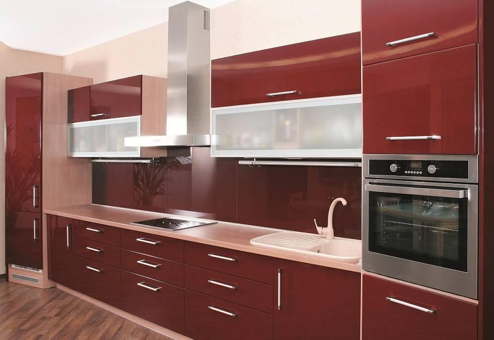 Modern Kitchen Cabinet Doors Aluminum Glass
